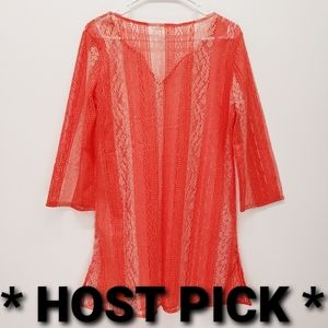 Everly Grey - NWT Maternity Swim Coverup - Citrus